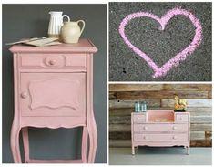 chalk paint rosa