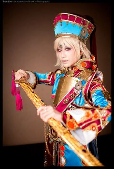 Ion Fortuna from Trinity Blood