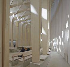 Capilla circular en Londres - Noticias de Arquitectura - Buscador de Arquitectura