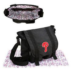 Philadelphia Phillies MLB Sitter Baby Diaper Bag