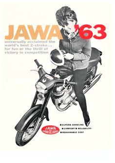 Vintage Jawa ad