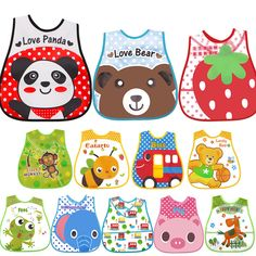 >> Click to Buy << Baby Bibs EVA Waterproof Lunch Infants Cartoon Burp Clothes For Baby Feeding #Affiliate