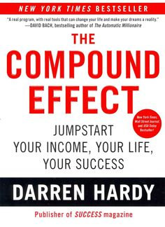 No gimmicks. No Hyperbole. No Magic Bullet. The Compound Effect is based on the principle that decisions shape your destiny. Little, everyday decisions will either take you to the life you desire or t