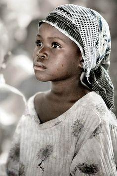 Le regard d'un enfant