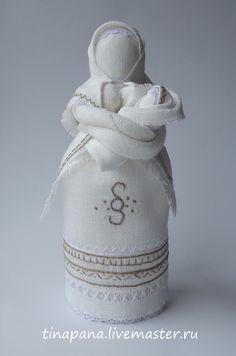 """Народные куклы ручной работы. Ярмарка Мастеров - ручная работа """"Приглашение дитя в семью"""" авторская кукла. Handmade."""