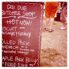 Dai Due Butcher Shop at Austin Farmer's Market on Saturday.