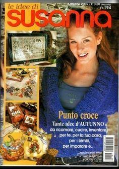 Le idee di Susanna №194 2005 Ottobre (вязание, вышивка)