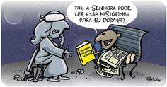 A cartunista Pryscila reflete sobre os novos rumos na história do direito diante de uma provável aprovação da redução da maioridade penal