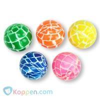 Stuiterbal neon kleuren - Koppen.com