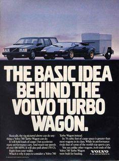 Volvo vs Lamborghini.