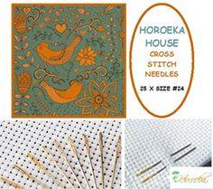 Cross Stitch/Tapestry Needles - 25 x Size #24