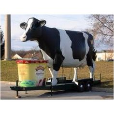 Turkey Hill -  I have seen the 13 ft cow!