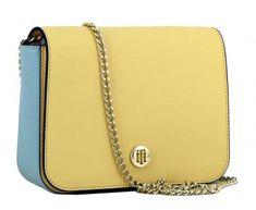 8eef8a2d63caa Crossover Tasche Tommy Hilfiger Honey Golden Haze hellgelb blau