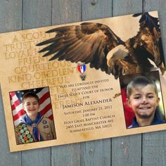 Boy Scout Eagle Invitations | eagle scout court of honor invitation Boy Scouts of by CeceliaJane