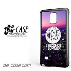 5 Seconds Of Summer 5SOS 5 SOS City Logo For Samsung Galaxy Note 4 Case Phone Case Gift Present YO