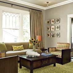 This homeowner mixes plush textures and bright décor with clean-lined furniture in her 1920s bungalow.