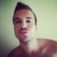 A kiss... ??