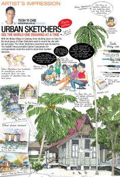 Urban Sketchers Brief Overview
