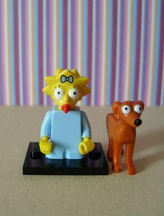 "Lego minifigures ""The Simpsons"""