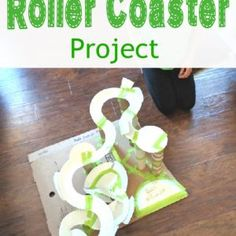 Paper Plate Roller Coaster - Such a fun and creative (and inexpensive) project for kids! Cool STEM project for the classroom! 6th Grade Science, Stem Science, Middle School Science, Science For Kids, Physical Science, Math Stem, Kids Math, Elementary Science, Kids Fun