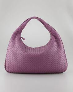images of bottega veneta evening bags | Bottega Veneta Veneta Large Hobo Bag, Purple Sold Out thestylecure.com