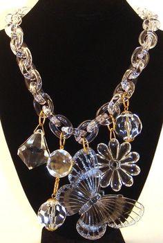 statement necklace | LuciteLux® #justimagine  justimagine