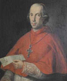 Cardinale Bartolomeo Pacca (Benevento, 23 dicembre 1756 – Roma, 19 aprile 1844) prosegretario di Stato dal 1808 al 1814. Fu sepolto nella Chiesa di Santa Maria in Portico in Campitelli. L'anno successivo uscivano a Parigi i due volumi delle sue Œuvres complètes).