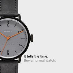 """""""Não estarão ultrapassados no ano que vem"""", provoca loja de relógios…"""