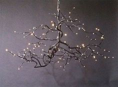 the twig chandelier - art for your interior design