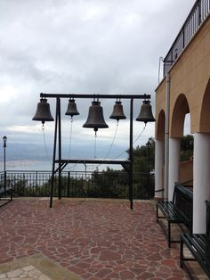 Bells at the Monastery of Saint Patapios