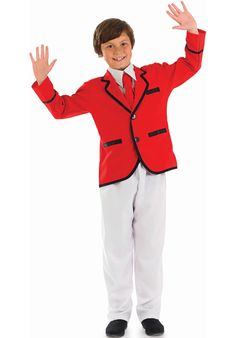 Kids Holiday Camp Boy Costume - Children Occupational Costumes at Escapade