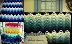 Using the double crochet and the cluster stitches, you can make this beautiful free crochet afghan pattern.