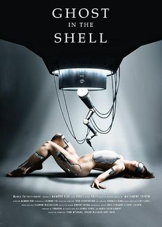 Ghost in the Shell the movie poster