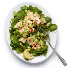 Spicy Chicken Salad http://www.womenshealthmag.com/weight-loss/lunches-for-weight-loss/tuna-avocado-sandwich