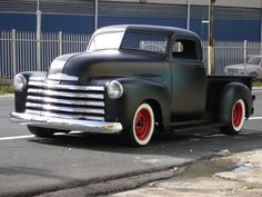 Here is an oldie, but a goodie! 1950 chevy rat rod