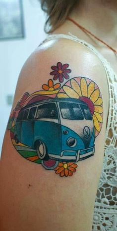 VW Tattoo bus