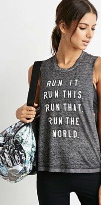 Who run the world? | 25 Badass Tanks That Will Actually Inspire You To Exercise