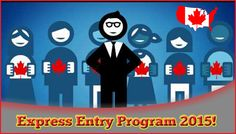 Easy Way to Get #Canada #PR #Visa through #Express #Entry #Program 2015! The Citizenship and Immigration Canada have launched a new system for Canada Immigration that would pick only the skilled and professionals known as an Express Entry Program.