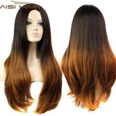 $15.78 (Buy here: https://alitems.com/g/1e8d114494ebda23ff8b16525dc3e8/?i=5&ulp=https%3A%2F%2Fwww.aliexpress.com%2Fitem%2F30inch-Fashion-ombre-celebrity-wig-cheap-wigs-two-tone-big-wave-female-elegant-wigs-wavy-wig%2F32263326683.html ) 2016 Available Ombre Celebrity Curly Wig Cheap Wigs Two-Tone Female Elegant Wavy Synthetic Wigs for African American Black Women for just $15.78