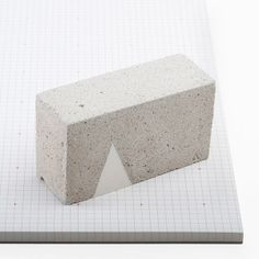 Concrete Paperweight for Poketo x The Line Hotel