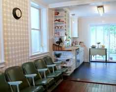 Awesome Herringbone Tile Layout Ideas To Make Fabulous Bathroom & Kitchens: Look At These Lovely Kitchen With Ceramic Tile Herringbone Layout White Shelving Unit And Spice Racks ~ tetsuharukubota.com Bathroom Designs Inspiration