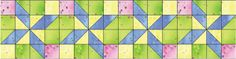 Learn to Make a Pretty In Pastels Baby Quilt Using This Free Pattern: Assemble the Pretty in Pastels Baby Quilt