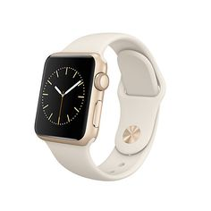 Buy Apple Watch Sport with 38mm Gold Aluminium Case & Sport Band, Antique White Online at johnlewis.com