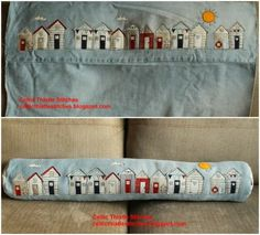 Turn the leg of an old pair of jeans into a draught excluder.