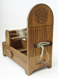 Contemporary Makers: Tape Loom by Curt Hoagland