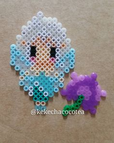 Periwinkle perler beads by kekechacocotea