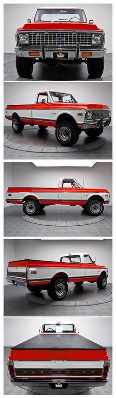 1972 Chevy Pickup K-20- I appreciate the full spin.