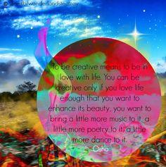 Creativity quote via Alice in Wonderland's Teatray at www.Facebook.com/WonderlandsTeatray