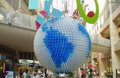. . . . . How to Recycle: Recycled Plastic Bottle Sculptures