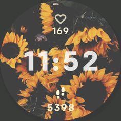 Sunflower Clockface for Fitbit Versa on Paymee!